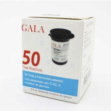 نوار تست قند خون GALA بسته ی 50 عددی